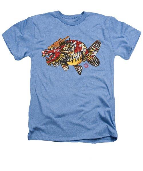 Dragon Ranchu Heathers T-Shirt by Shih Chang Yang