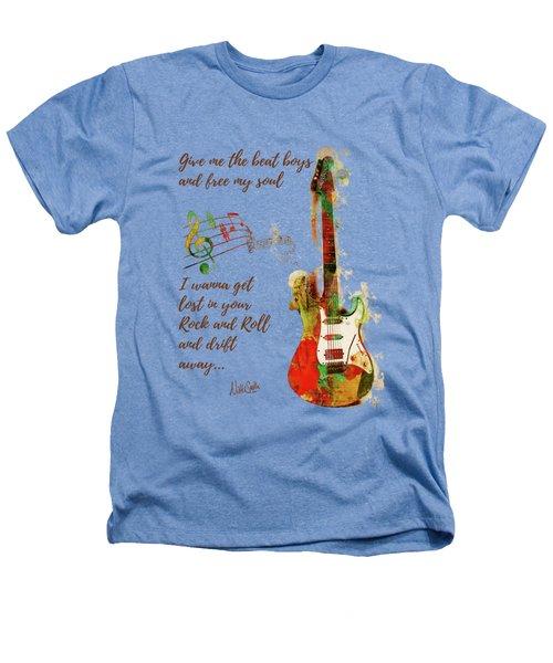 Drift Away Heathers T-Shirt by Nikki Marie Smith