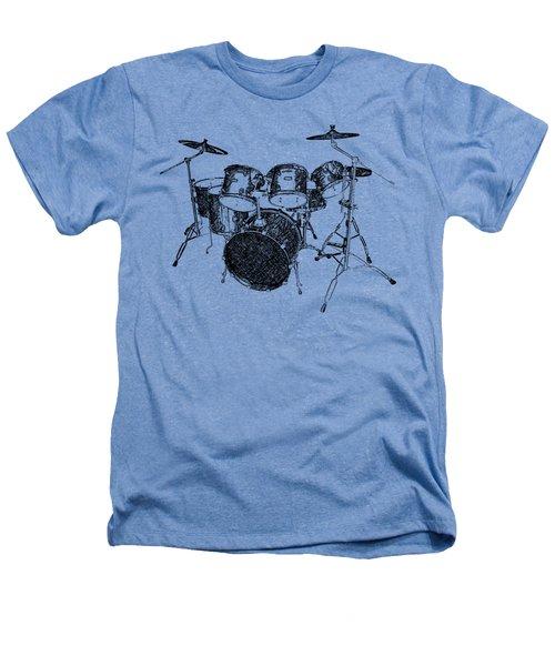 Drums Heathers T-Shirt by Birgitta