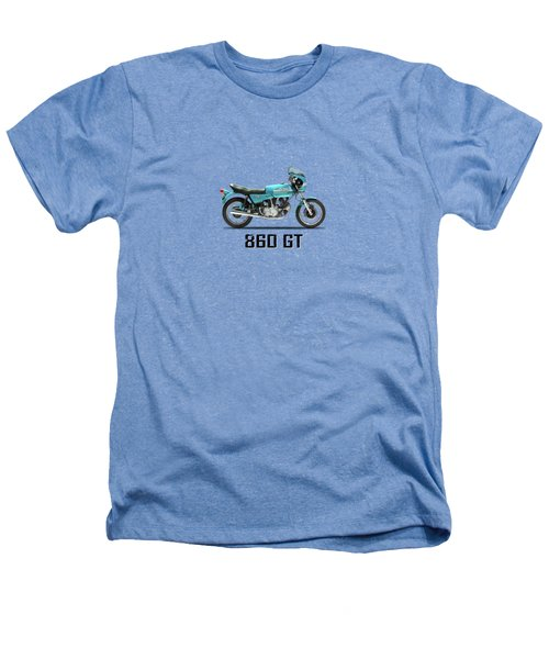 Ducati 860 Gt 1975 Heathers T-Shirt by Mark Rogan