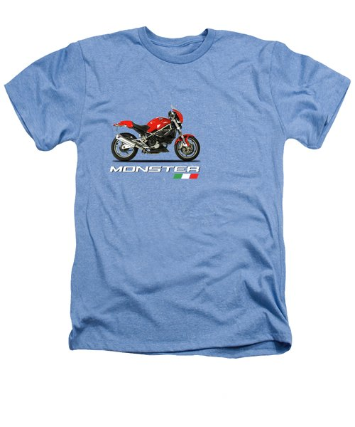 Ducati Monster S4 Sps Heathers T-Shirt by Mark Rogan