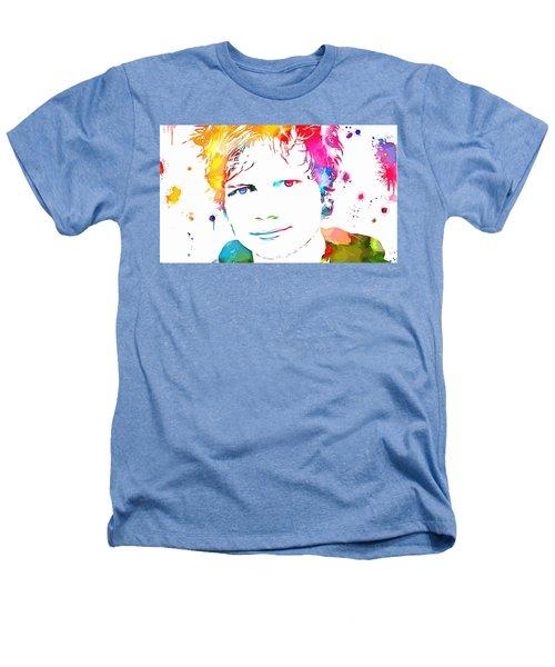 Ed Sheeran Paint Splatter Heathers T-Shirt by Dan Sproul