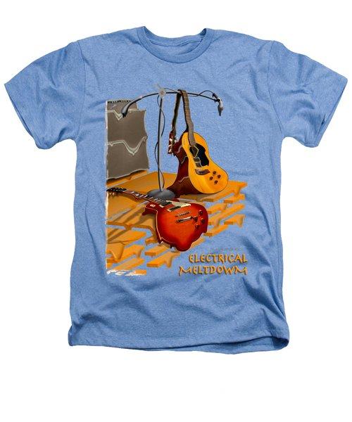 Electrical Meltdown Se Heathers T-Shirt by Mike McGlothlen