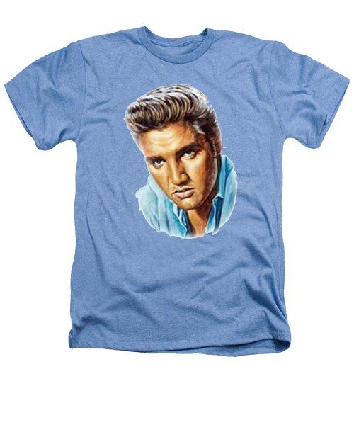 Elvis T-shirt Heathers T-Shirt by Herb Strobino