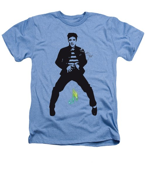 Elvis Presley In White Heathers T-Shirt by iMia dEsigN