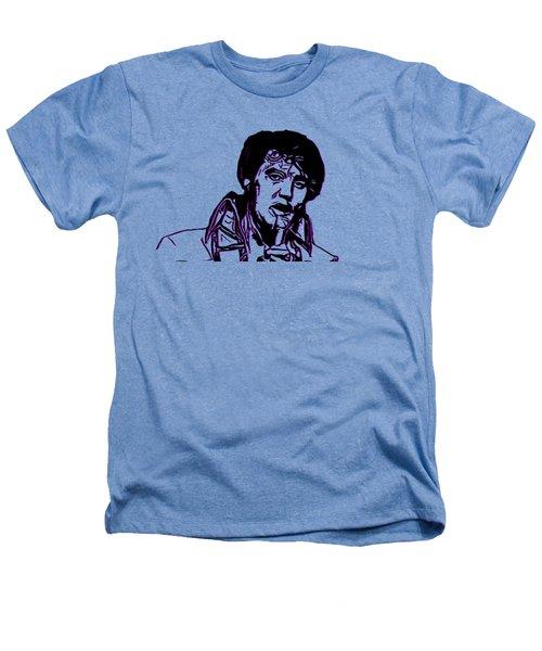 Elvis Presley Heathers T-Shirt by Miroslav Nemecek