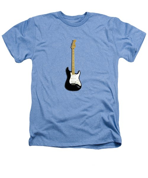 Fender Stratocaster Blackie 77 Heathers T-Shirt by Mark Rogan