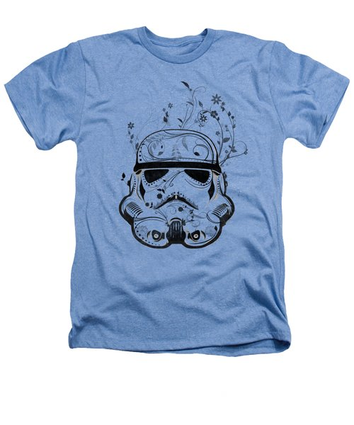 Flower Trooper Heathers T-Shirt by Nicklas Gustafsson