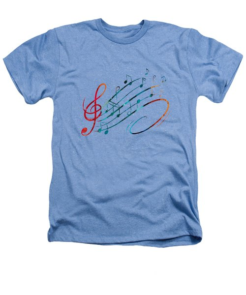 Fluid Depths Alcohol Ink Abstract Heathers T-Shirt by Nikki Marie Smith