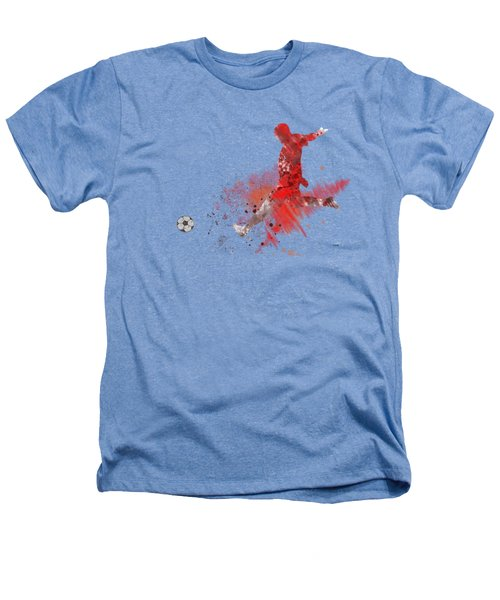 Football Player Heathers T-Shirt by Marlene Watson