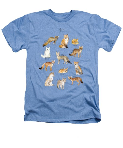 Foxes Heathers T-Shirt by Amy Hamilton
