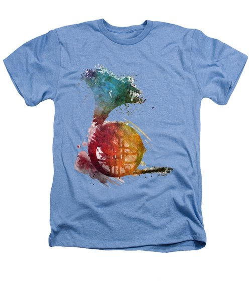 French Horn Colored Musical Instruments Heathers T-Shirt by Justyna JBJart