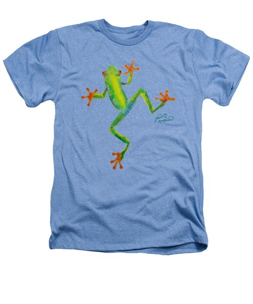 Red Eyed Tree Frog By Jan Marvin Heathers T-Shirt by Jan Marvin