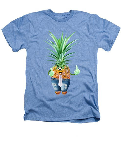 Fun Pineapple  Heathers T-Shirt by Elena Nikolaeva