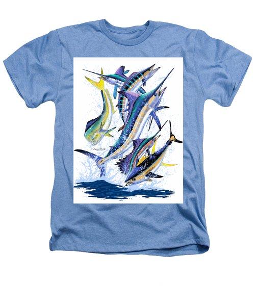 Gamefish Digital Heathers T-Shirt by Carey Chen