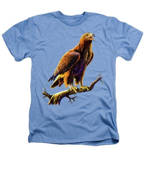Golden Eagle Heathers T-Shirt by Anthony Mwangi