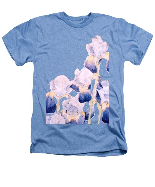 Graceful Iris Heathers T-Shirt by Gail Maguire