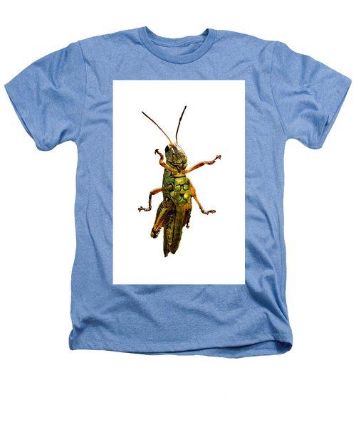 Grasshopper II Heathers T-Shirt by Gary Adkins