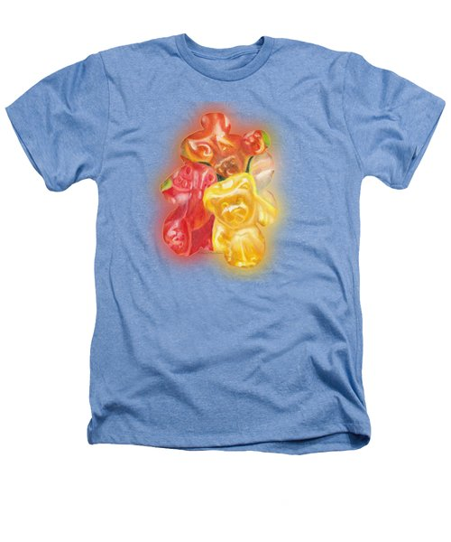 Gummy Bear Heathers T-Shirt by Shana Rowe Jackson