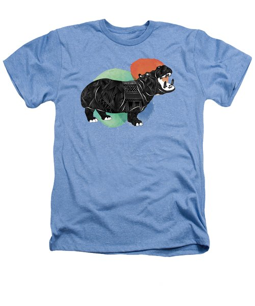 Hippo Heathers T-Shirt by Serkes Panda