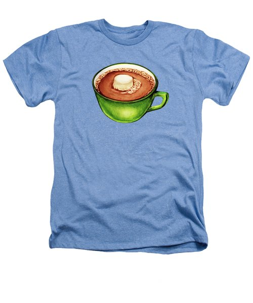 Hot Cocoa Pattern Heathers T-Shirt by Kelly Gilleran
