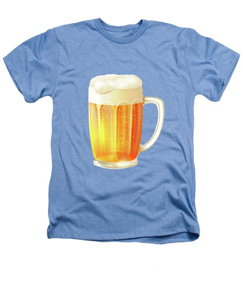 Ice Cold Beer Pattern Heathers T-Shirt by Little Bunny Sunshine