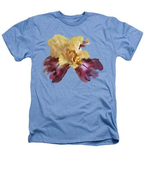 Iris T Shirt Heathers T-Shirt by Nancy Pauling