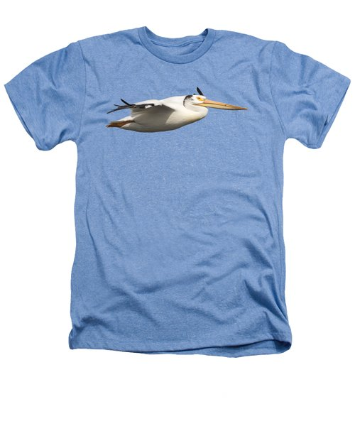 Isolated Pelican 2016-1 Heathers T-Shirt by Thomas Young