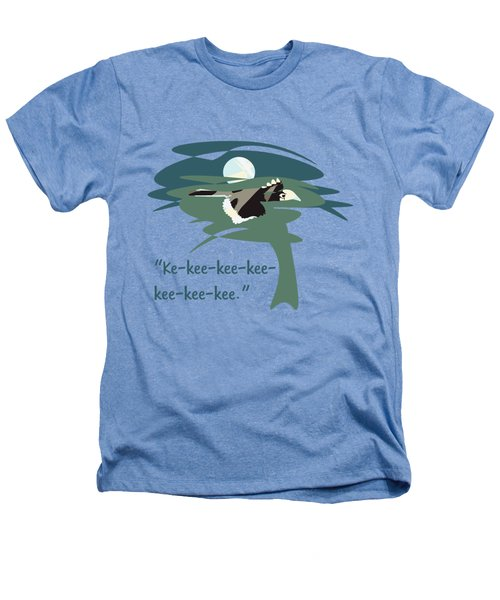 Kelingking Hornbill Heathers T-Shirt by Geckojoy Gecko Books
