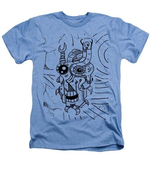Killer Robot Heathers T-Shirt by Sotuland Art