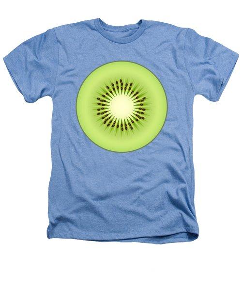 Kiwi Fruit Heathers T-Shirt by Miroslav Nemecek