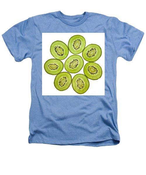 Kiwifruit Heathers T-Shirt by Nailia Schwarz