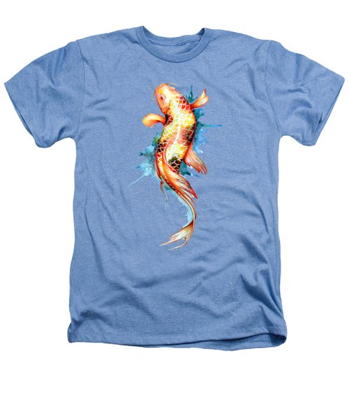 Koi Fish I Heathers T-Shirt by Sam Nagel