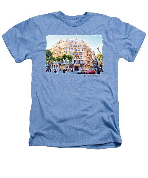 La Pedrera Barcelona Heathers T-Shirt by Marian Voicu