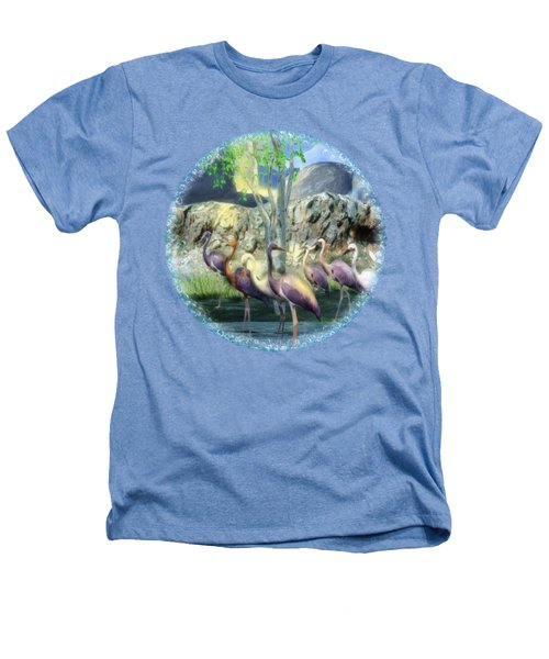 Lakeside View Heathers T-Shirt by Sharon and Renee Lozen