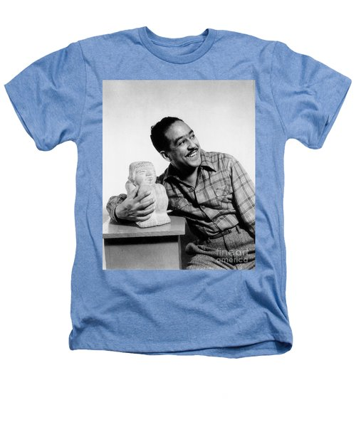 Langston Hughes (1902-1967) Heathers T-Shirt by Granger