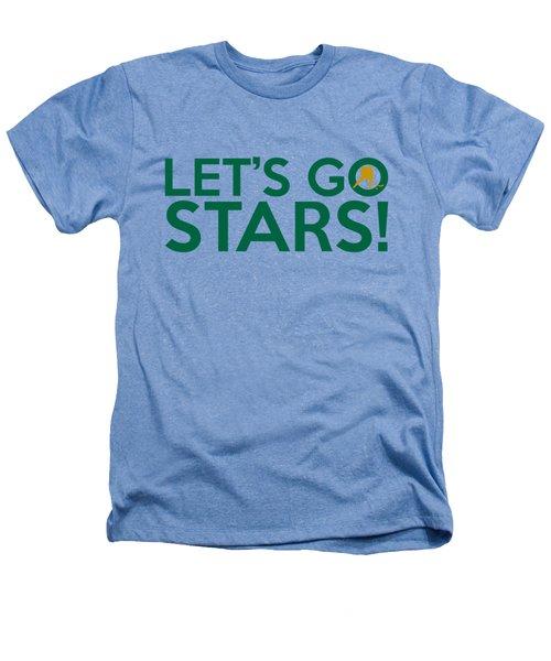 Let's Go Stars Heathers T-Shirt by Florian Rodarte