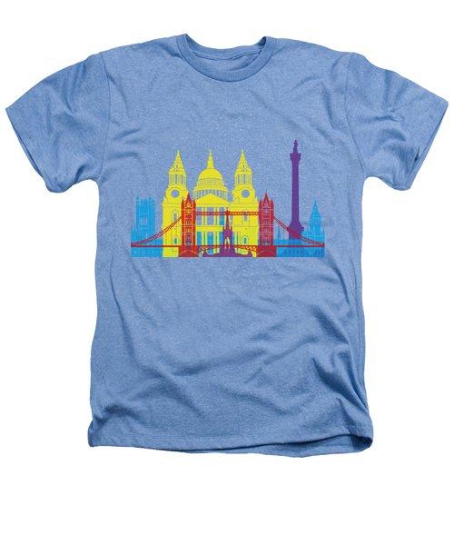 London Skyline Pop Heathers T-Shirt by Pablo Romero