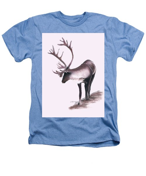 Lone Caribou Heathers T-Shirt by Jane M Lucas