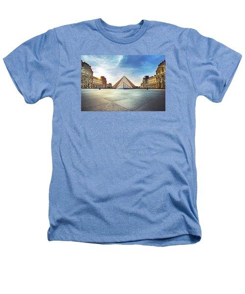 Louvre Museum Heathers T-Shirt by Ivan Vukelic