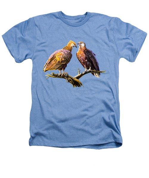 Madagascar Fish Eagle  Heathers T-Shirt by Anthony Mwangi