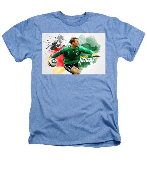 Manuel Neuer Heathers T-Shirt by Semih Yurdabak