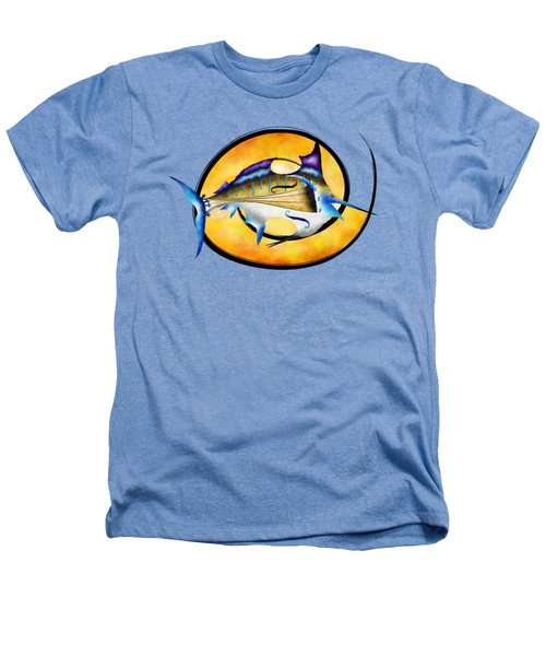 Marlinissos V1 - Violinfish Without Back Heathers T-Shirt by Cersatti
