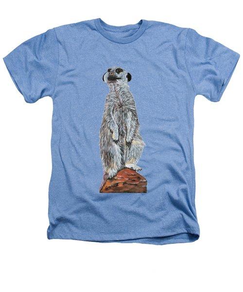 Meer Curiosity Custom Heathers T-Shirt by Lee Wolf Winter