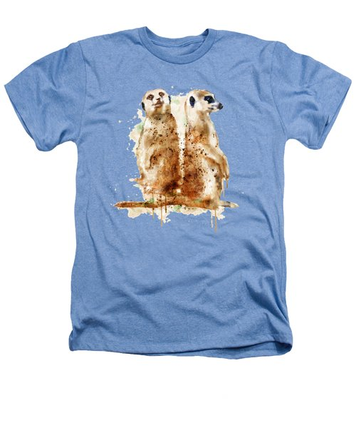 Meerkats Heathers T-Shirt by Marian Voicu