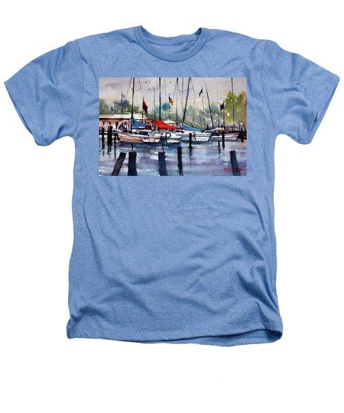 Menominee Marina Heathers T-Shirt by Ryan Radke
