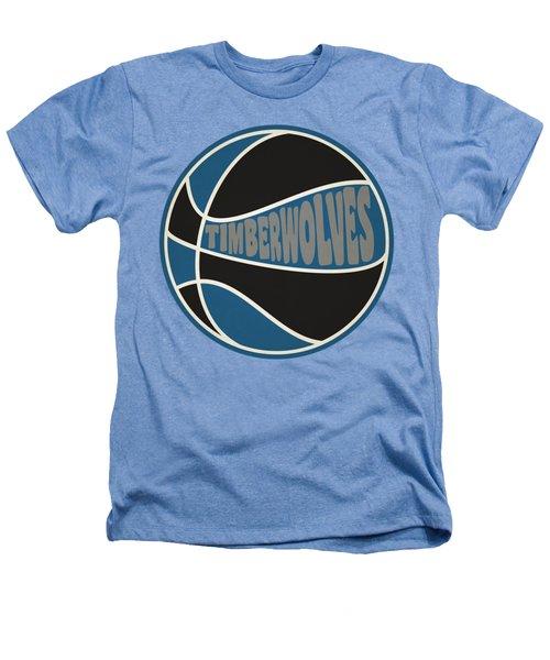 Minnesota Timberwolves Retro Shirt Heathers T-Shirt by Joe Hamilton