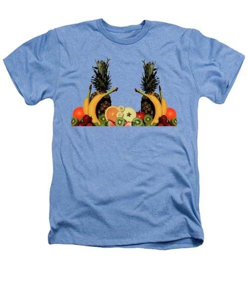 Mixed Fruits Heathers T-Shirt by Shane Bechler