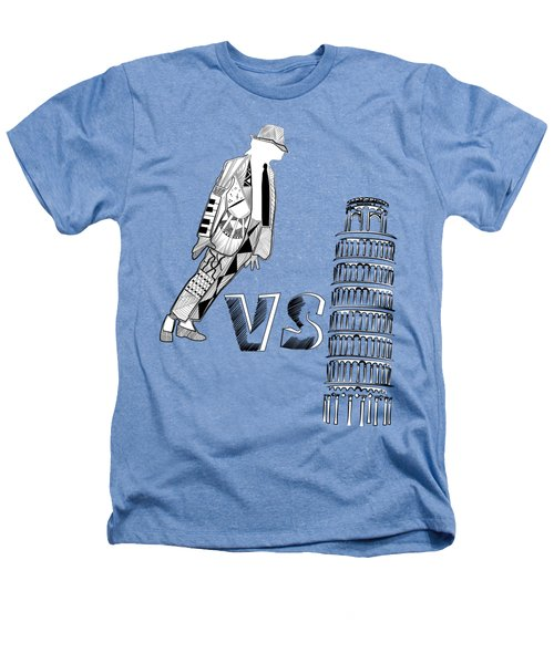 Mj Vs Pisa Heathers T-Shirt by Serkes Panda