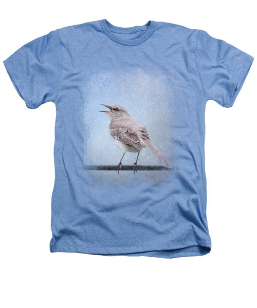 Mockingbird In The Snow Heathers T-Shirt by Jai Johnson